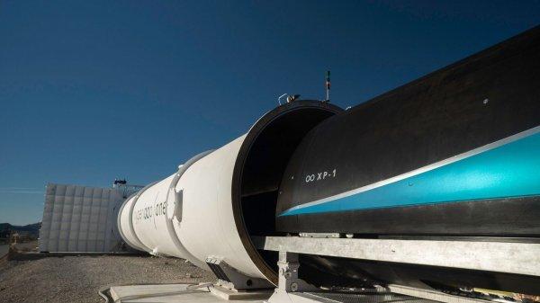 На Украине запустят тестовый участок для Hyperloop Илона Маска
