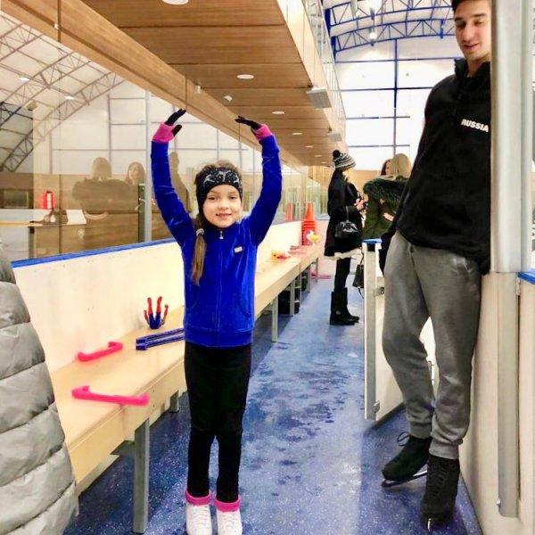 Дочь Филиппа Киркорова может стать олимпийской чемпионкой