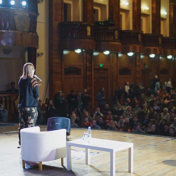 Ксения Собчак посетила Мурманск 23 февраля
