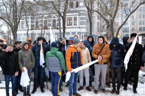 В Одессе задержаны 20 человек, участвовавших в акции к 23 февраля