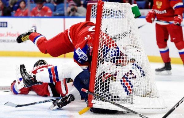 Россия чемпион: Олимпийский турнир по хоккею завершился триумфальной победой со счётом 4:3
