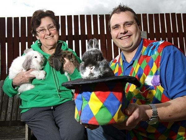 Британский фокусник узнал об аллергии на кроликов спустя 28 лет работы