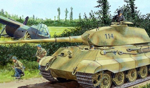 """Реставраторы работают над возрождением """"Королевского танка"""" Третьего Рейха"""