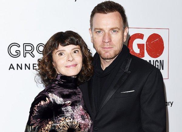 Эван Макгрегор разводится с женой и расстается с молодой любовницей