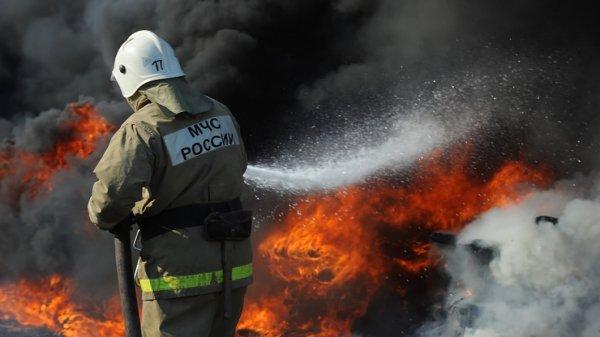 На нефтебазе в Ингушетии взорвался резервуар с мазутом