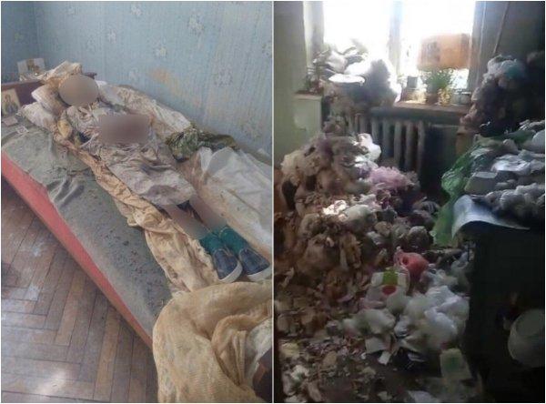 На Украине женщина 30 лет жила в одной квартире с мумией матери
