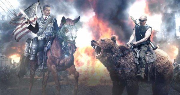 В Steam появилась игра о Путине, где он воюет с утками и геями