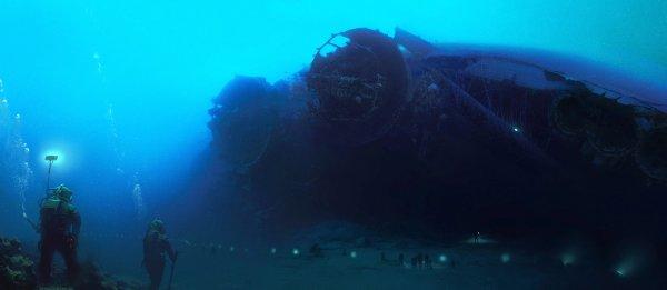 Корабль пришельцев обнаружили на дне Балтийского моря