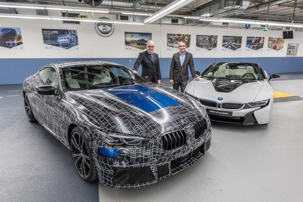 В BMW показали готовое к производству купе 8-Series