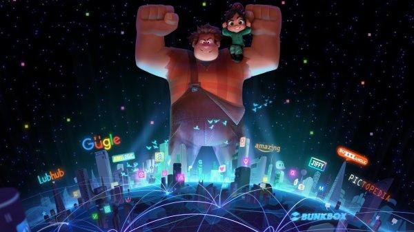 Вышел трейлер мультфильма «Ральф против интернета»