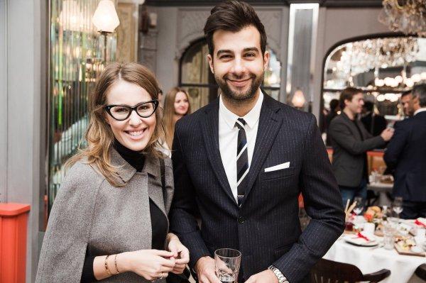 СМИ: Иван Ургант и Ксения Собчак живут вместе