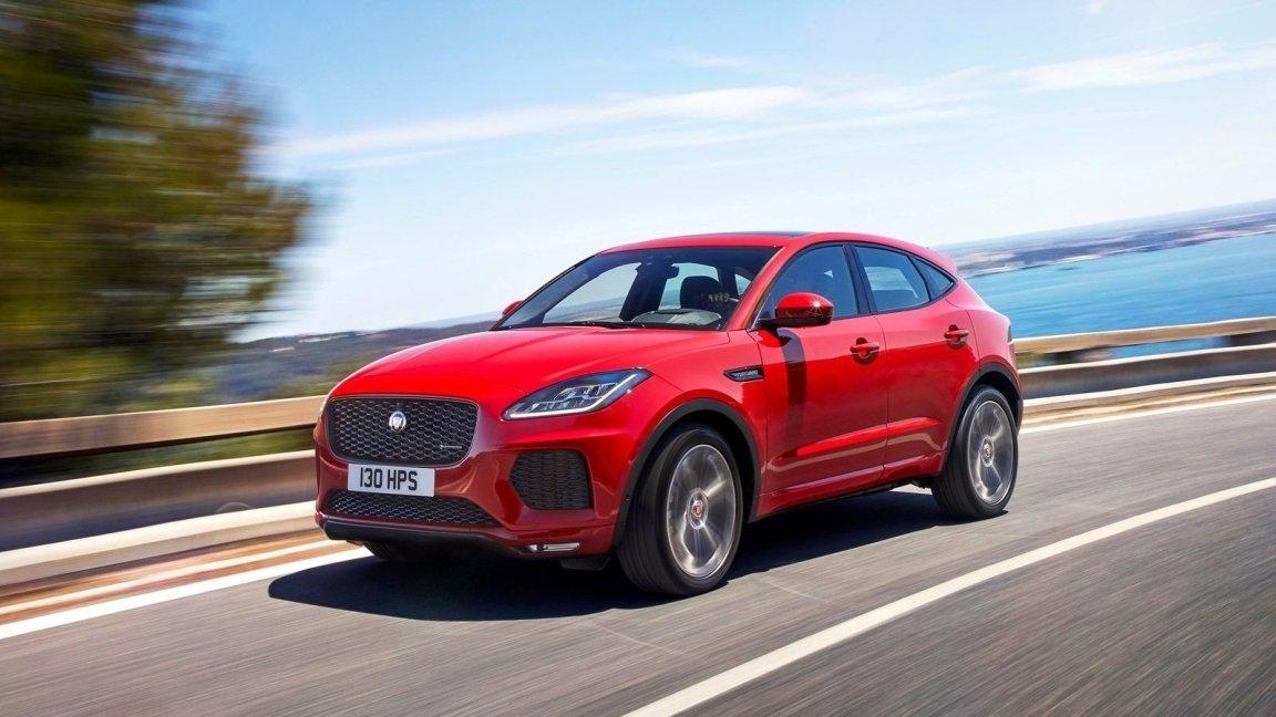 Новый кроссовер Jaguar E-Pace добрался до рынка России