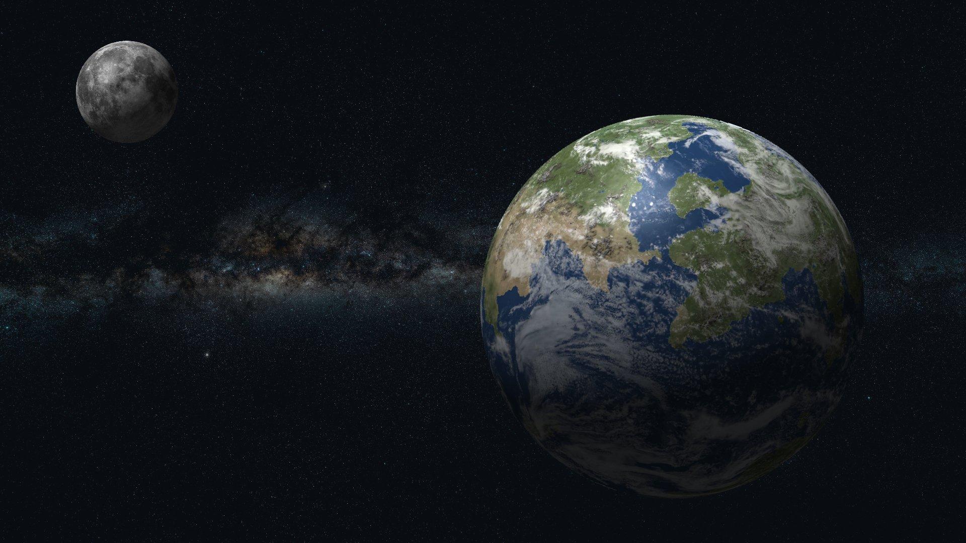 Ученые сообщили овозникновении Земли иЛуны внутри гигантского «бублика»