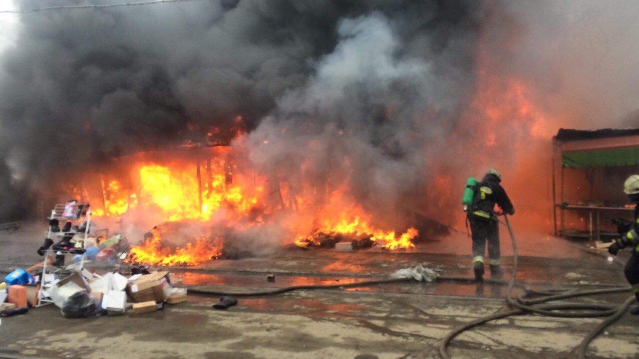 ВОлимпийском парке вСочи сгорели два киоска