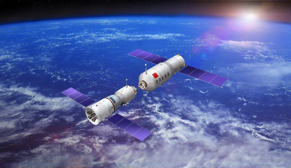 Допадения станции «Тяньгун-1» наЗемлю осталось 3 недели— специалисты