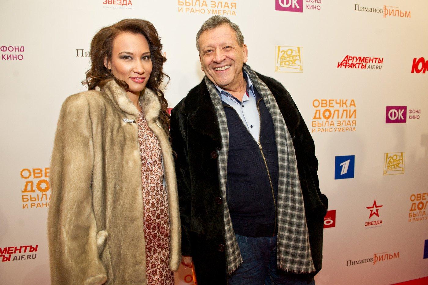 Грачевский с новой женой фото