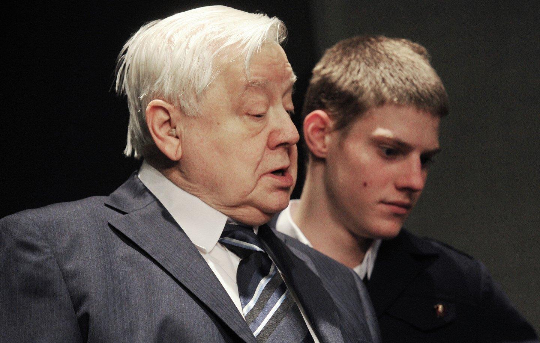 Стало известно, кто заменит Олега Табакова напосту худрука МХТ изоражения