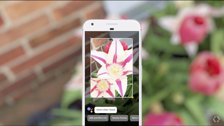 НаiOS появился Google Lens