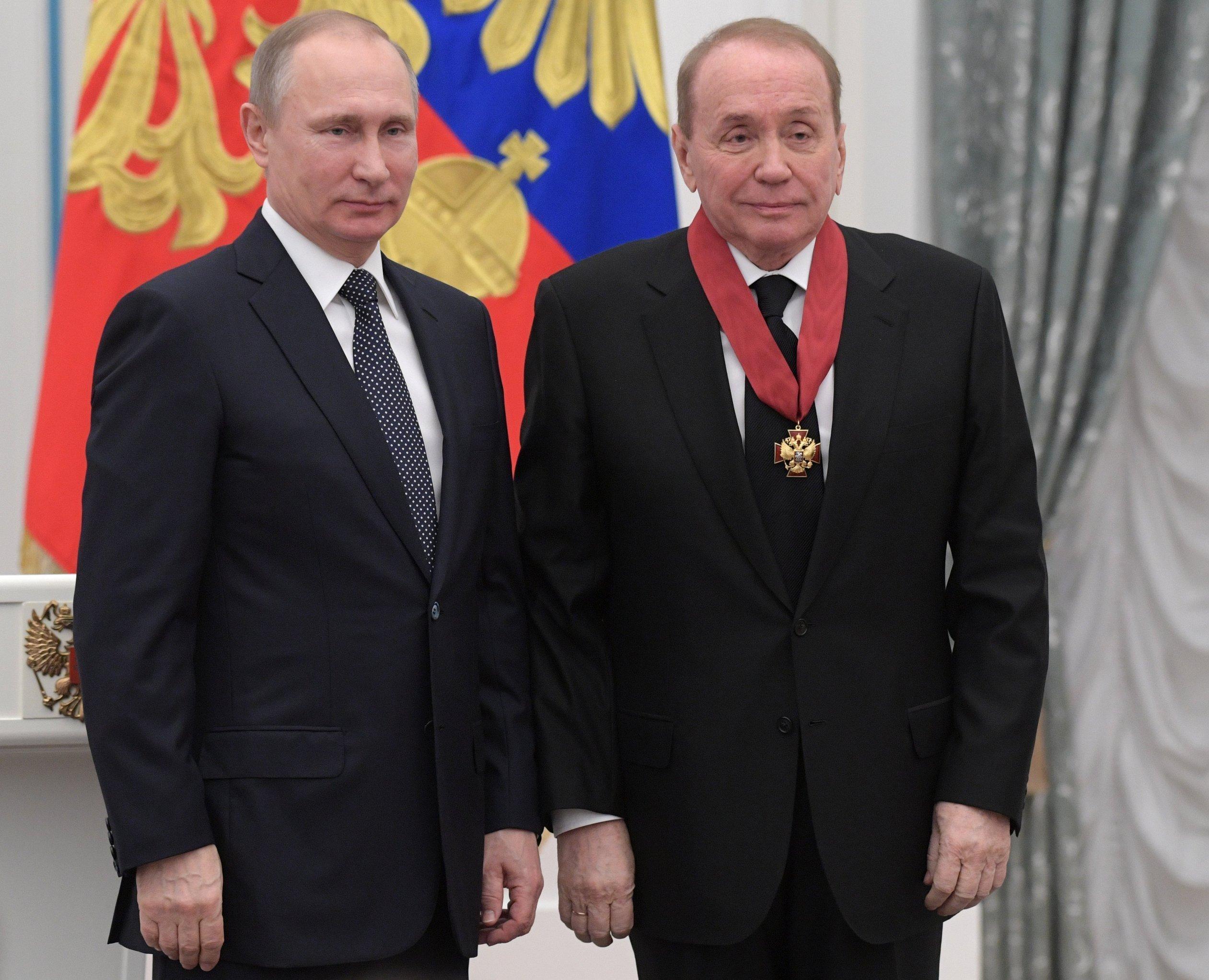 Масляков оценил чувство юмора В. Путина