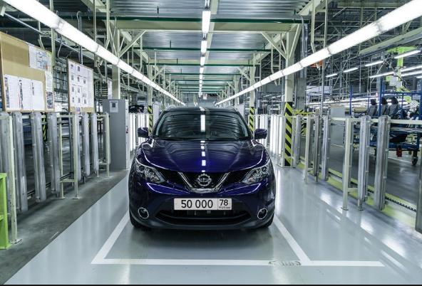 Nissan выпустила в России 50-тысячный кроссовер Qashqai