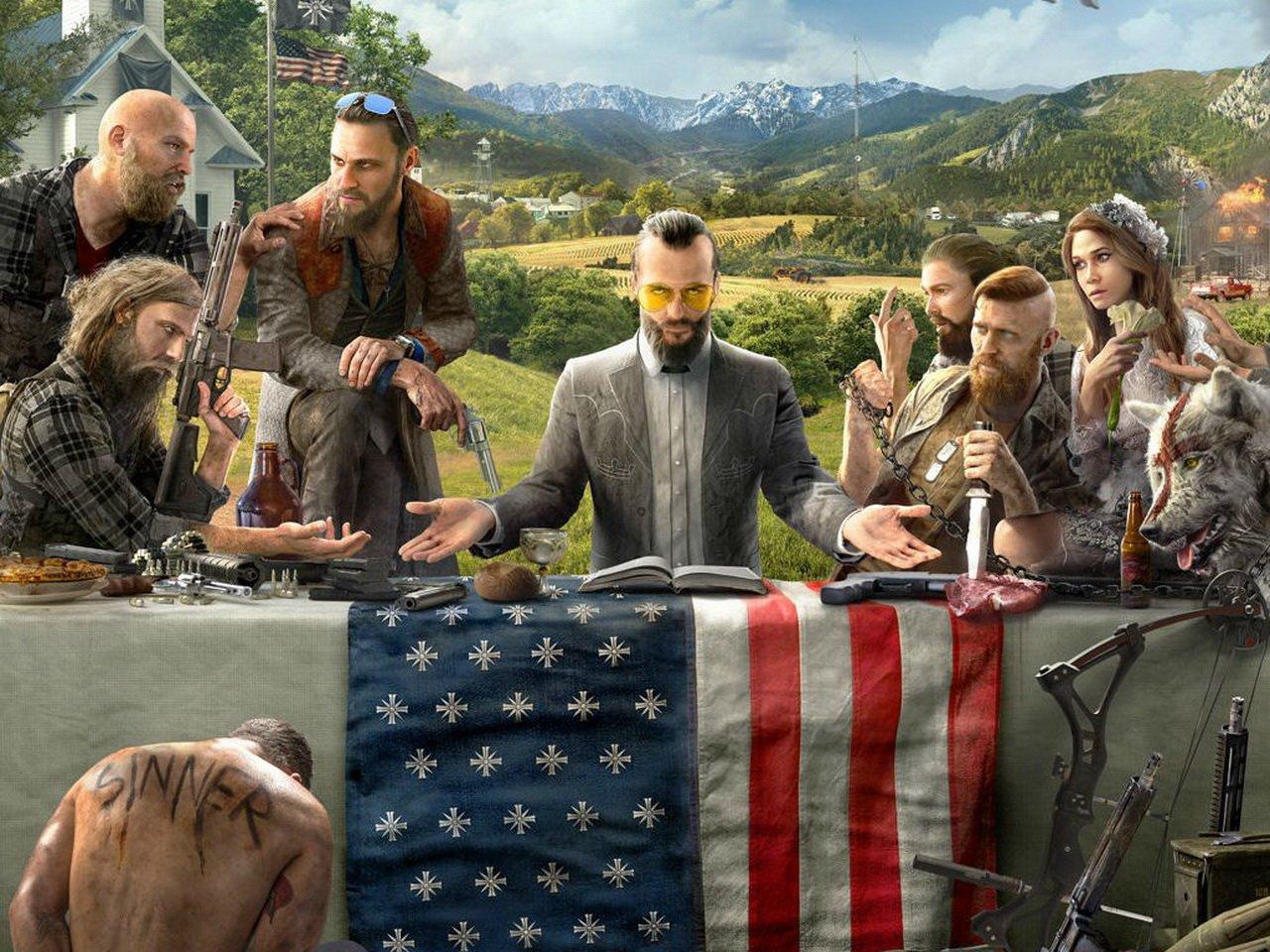 Far Cry 5 можно пройти задесять минут (спойлеры)