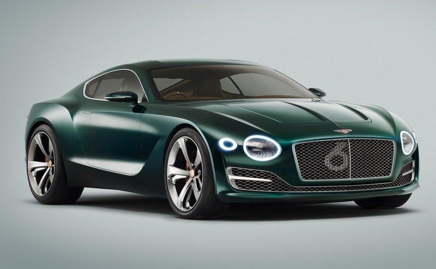 Первым электромобилем от Бентли будет купе