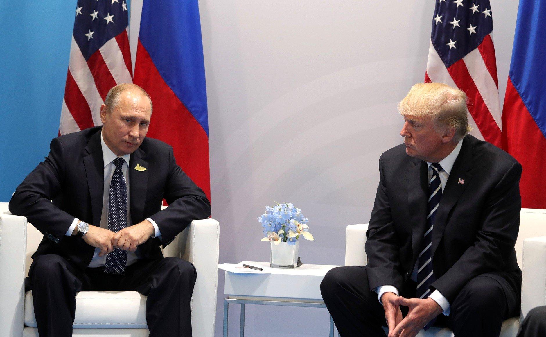 Трамп необсудил сПутиным «дело Скрипаля» из-за хитрых планов США