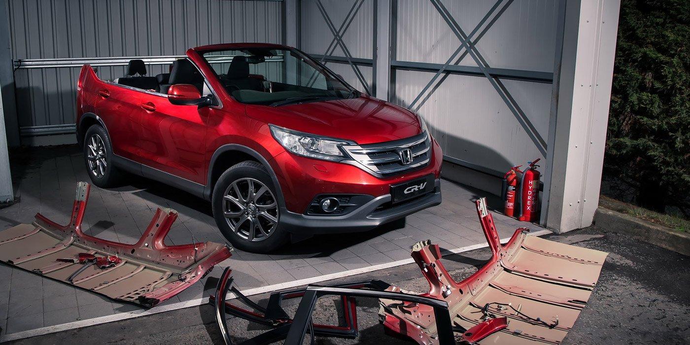 Хонда построила навсе 100% неуправляемый кабриолет CR-V