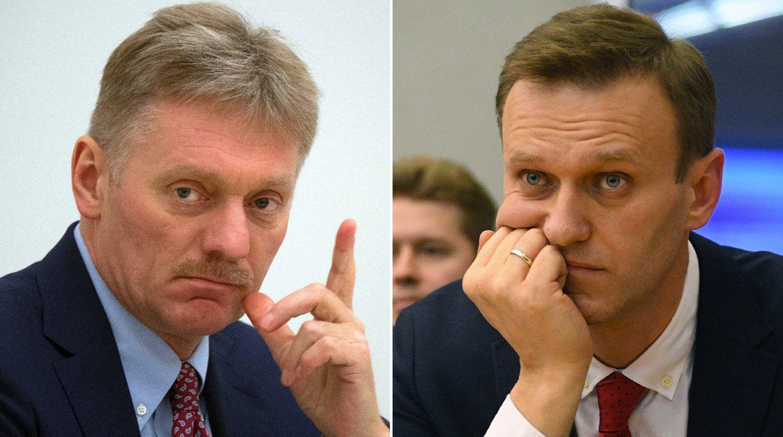 Песков назвал Навального болезненным нарциссом иэгоистом