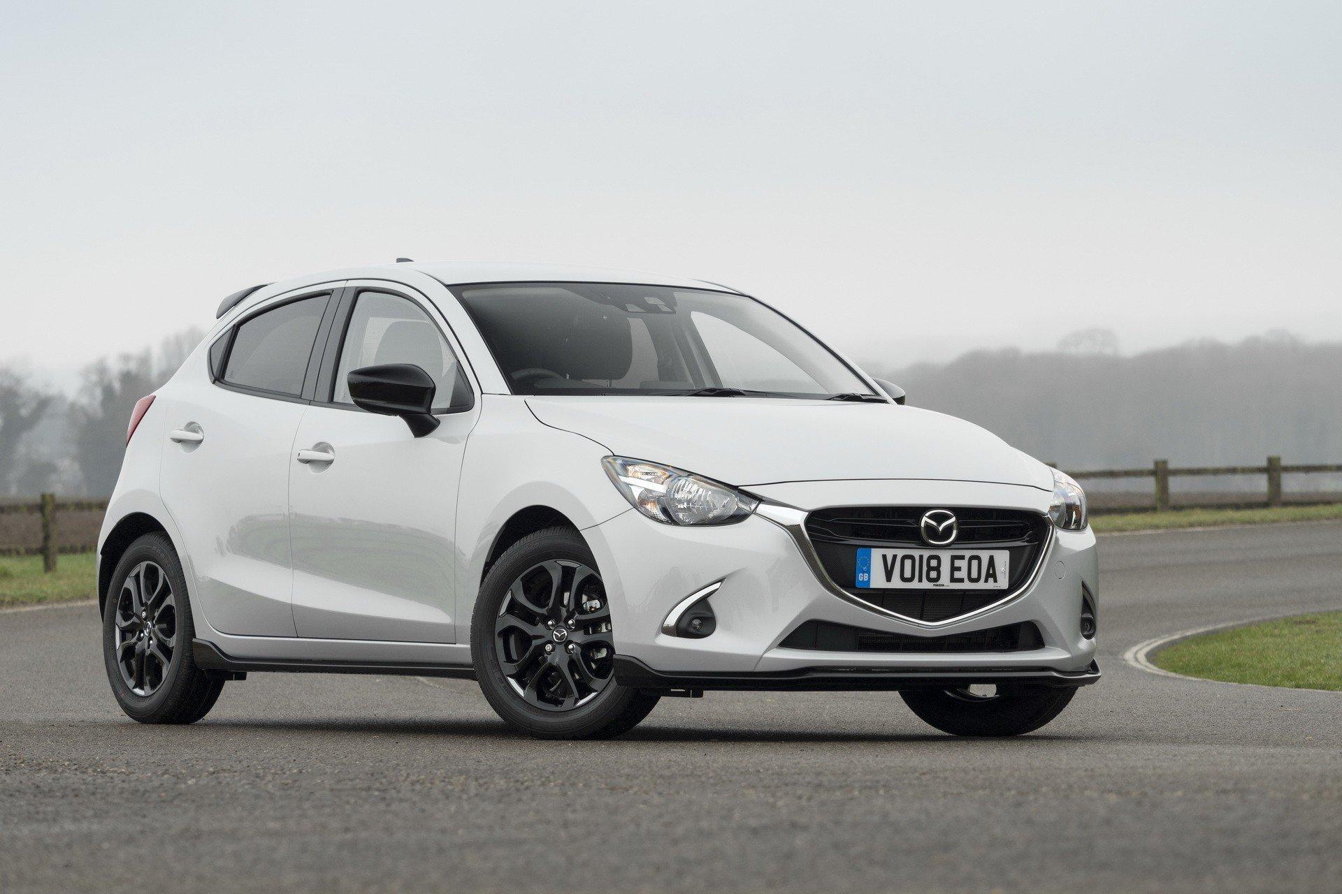 Хэтчбек Mazda2 появится вособой версии Sport Black