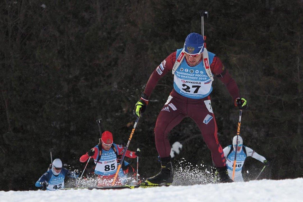 Биатлонист Логинов одержал победу спринт начемпионате Российской Федерации