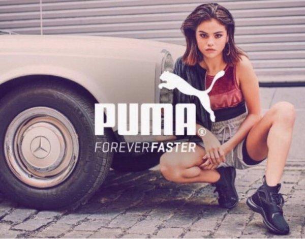 Селена Гомес демонстрирует упругое тело в рекламе Puma