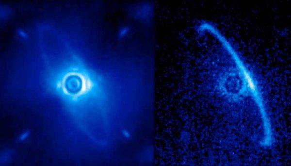 Вокруг молодой звезды заметили загадочную структуру