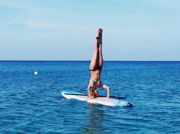 Виктория Боня продемонстрировала крайне опасный трюк на сёрфе