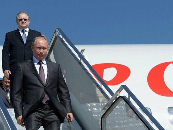 Президент Владимир Путин прибыл в Дагестан