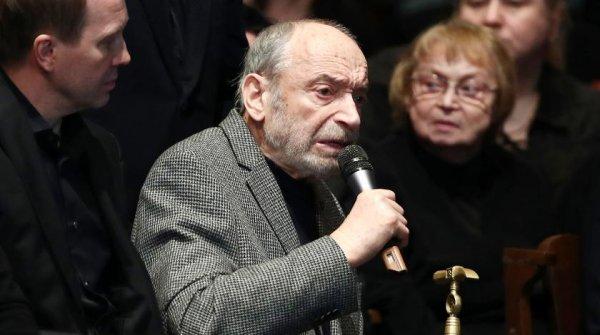 Валентин Гафт шокировал всех на похоронах Табакова