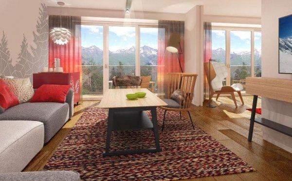Новый горнолыжный курорт в Альпах Club Med Les Arcs Panorama