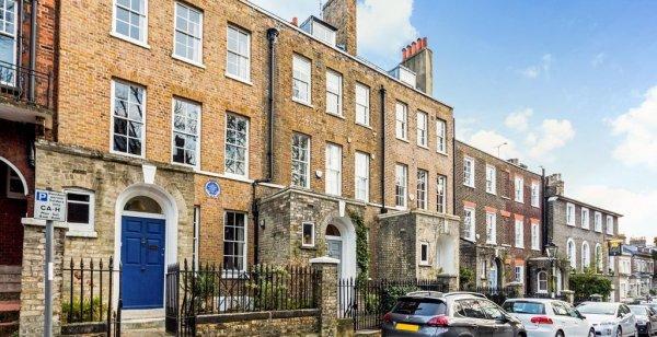 В Лондоне продают 200-летний дом художника Констэбля за $5,6 млн