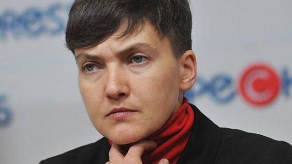 Надежда Савченко: украинские военные готовы к государственному перевороту