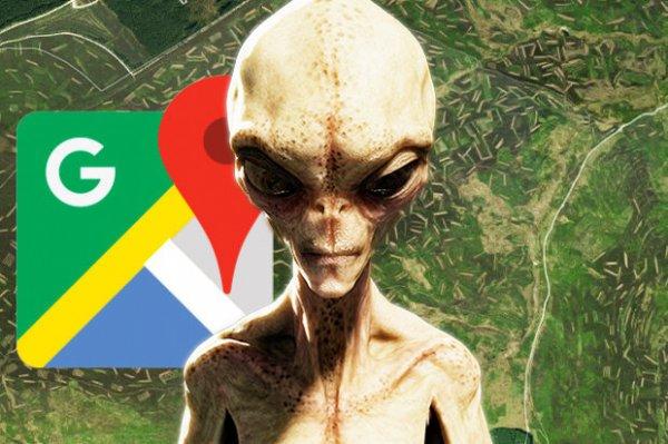 Уфологи: Найдены шокирующие послания пришельцев при помощи Google Maps