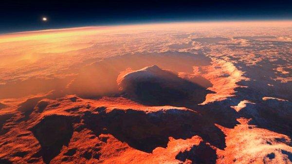 Ученые: Драгоценные металлы на Марсе говорят о крупном столкновении