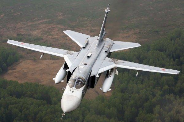 В Сирии террористы сбили Су-24