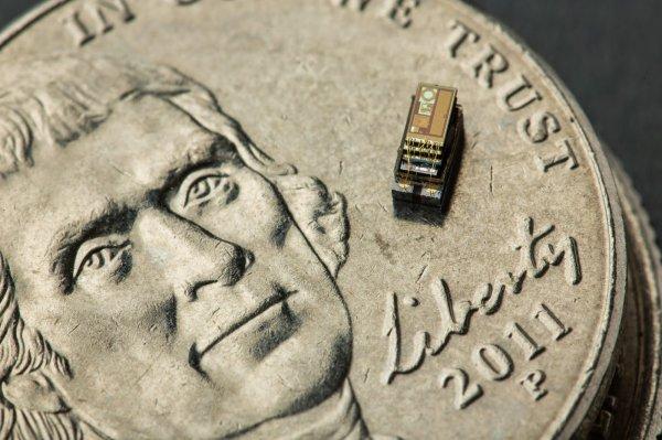 В США представлен самый маленький в мире компьютер в мире