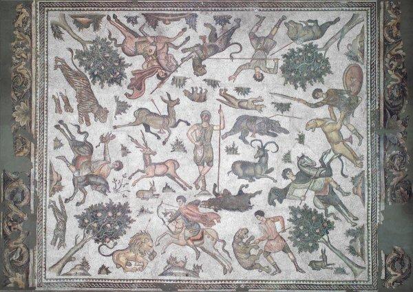 Под музеем во Флориде нашли две раритетные античные мозаики