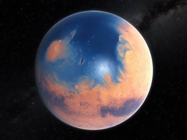 Ученые рассказали, когда на Марсе возникли океаны