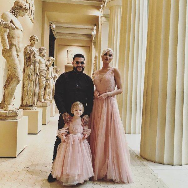 Рэпер Тимати поздравил дочь с днем рождения
