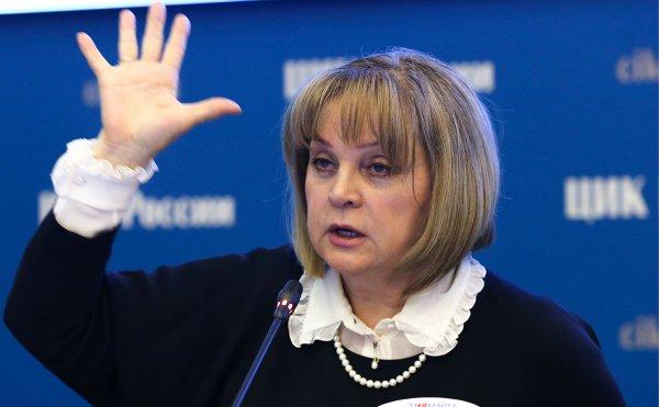 Памфилова: На семи участках отменены результаты голосования