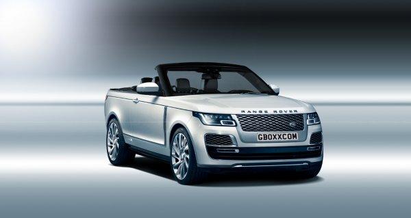 Российский дизайнер превратил Range Rover SV в кабриолет