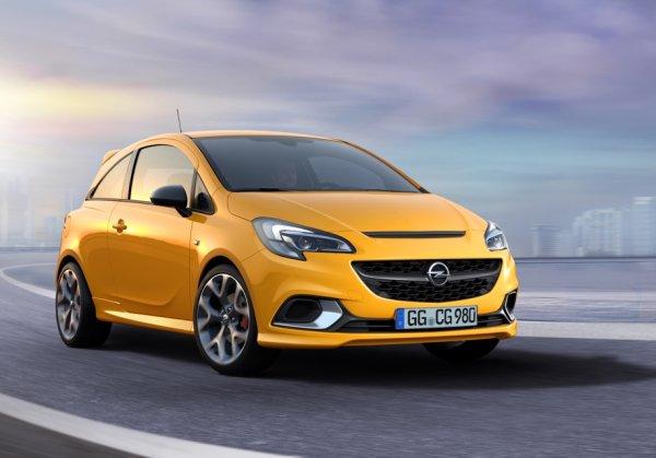 Компания Opel возродила спортивный хэтчбек Corsa GSI