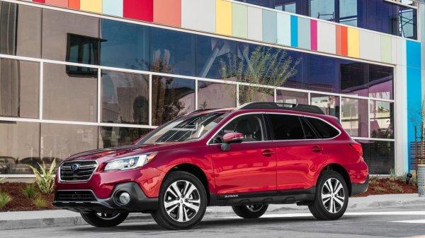 Озвучена рублевая стоимость универсала Subaru Outback 2018